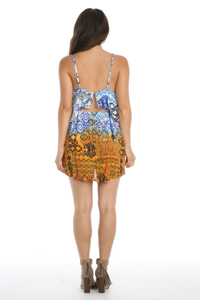 Until Sunrise Short Dress