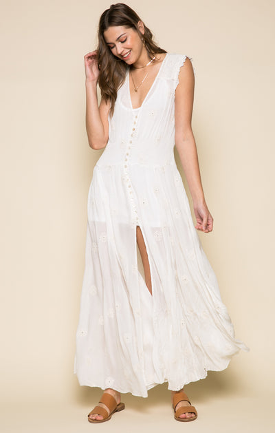 Angelwing Maxi Dress