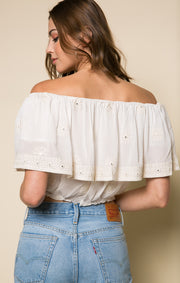 Angelwing Crop Top