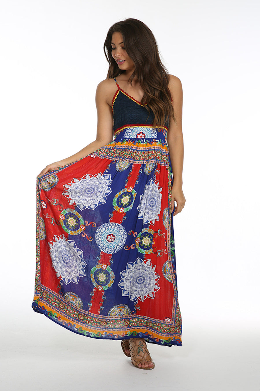 Fiesta De Playa Maxi Dress