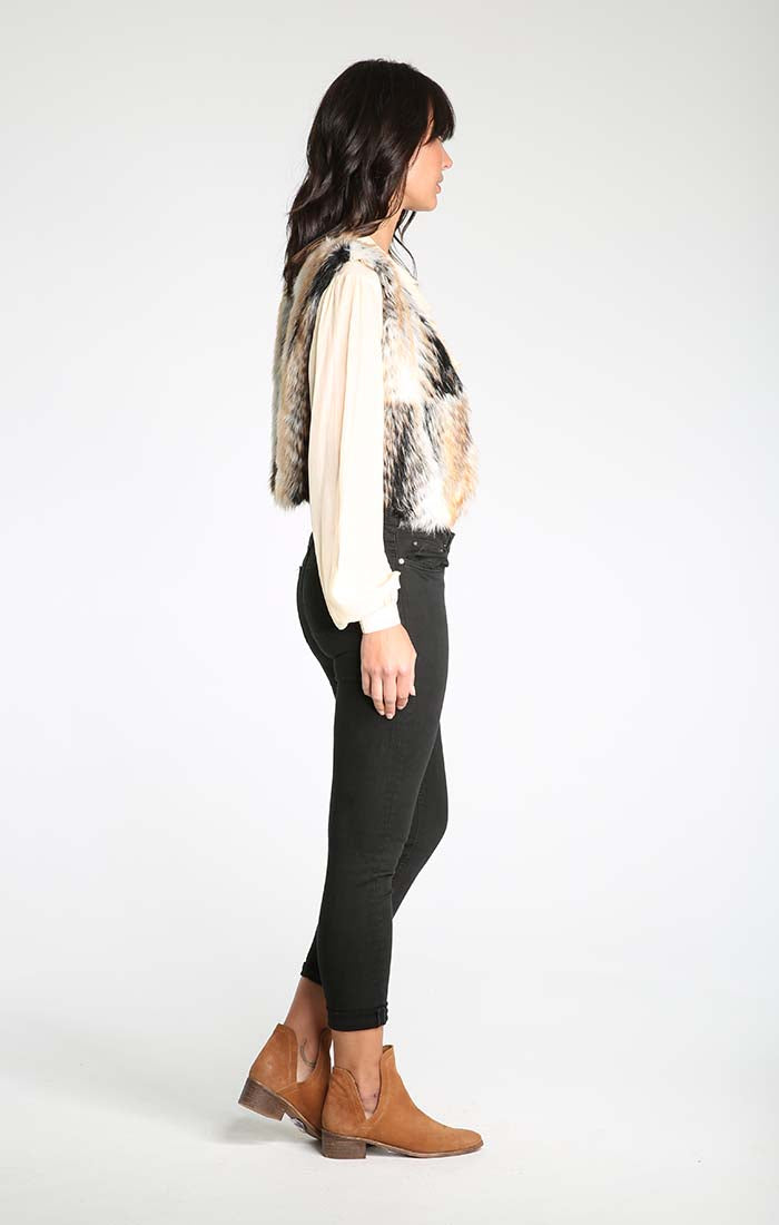 Fierce Love Faux Fur Vest