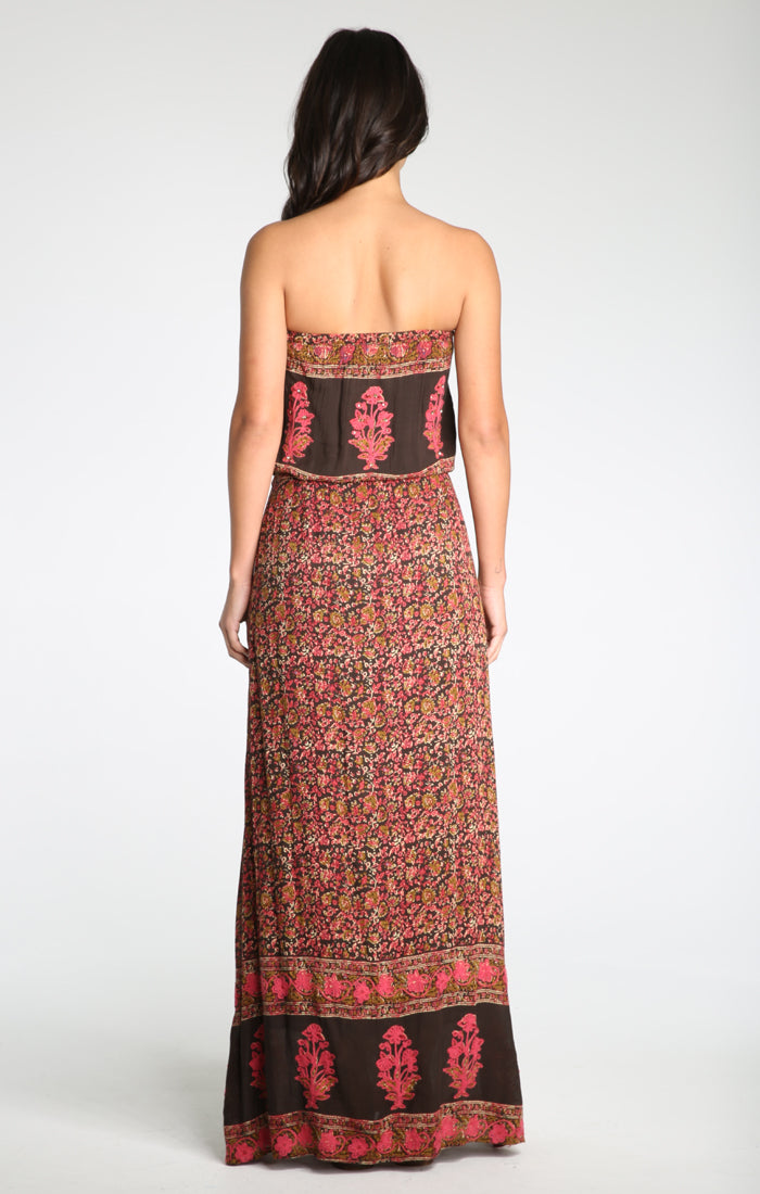 Konstantina Strapless Maxi Dress