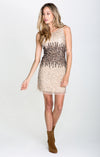 SEQUINS & CHAMPAGNE DRESS