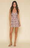 Genevieve Wrap Mini Dress