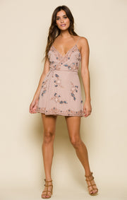 Sweetest Thing Wrap Mini Dress