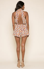 Myrna High Neck Romper