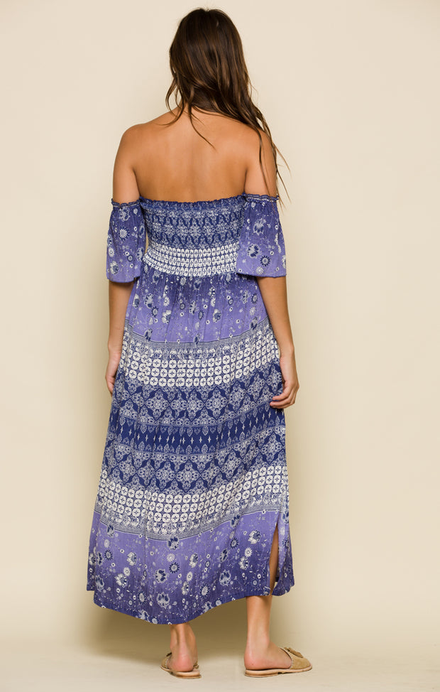 Luana Off Shoulder Midi Dress