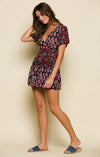 INFINITE NIGHTS SHORT WRAP DRESS