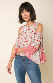 Primrose Cold Shoulder Top