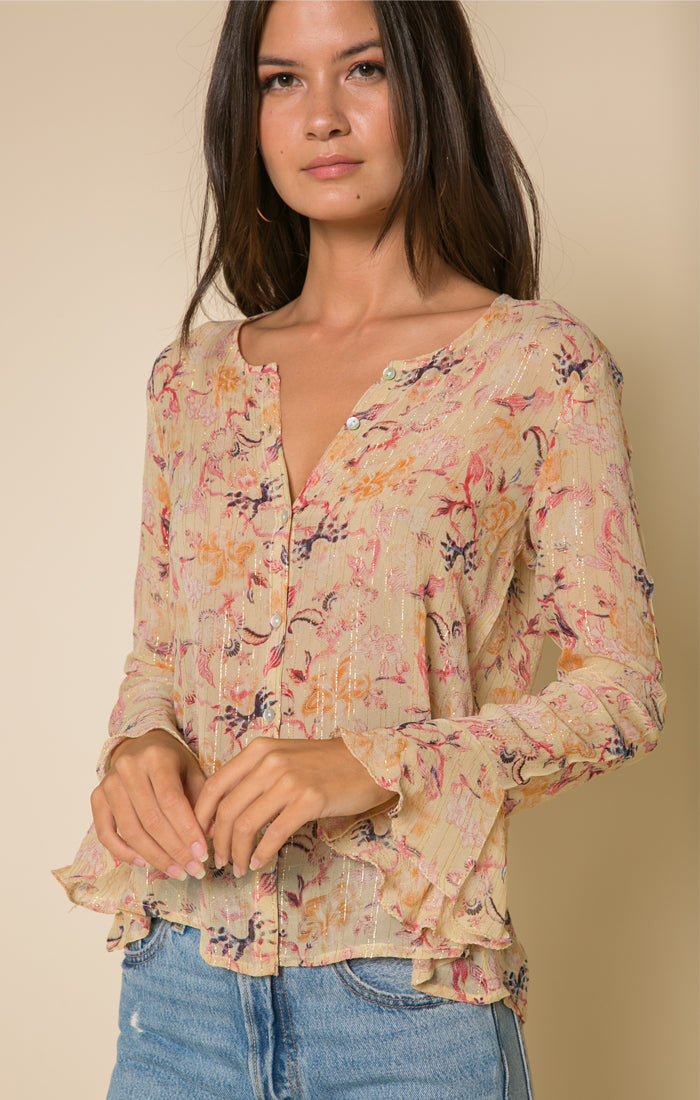 Norah Button Down Blouse