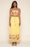 Blooming Lotus Maxi Skirt