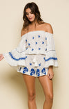 Eva Off Shoulder Romper