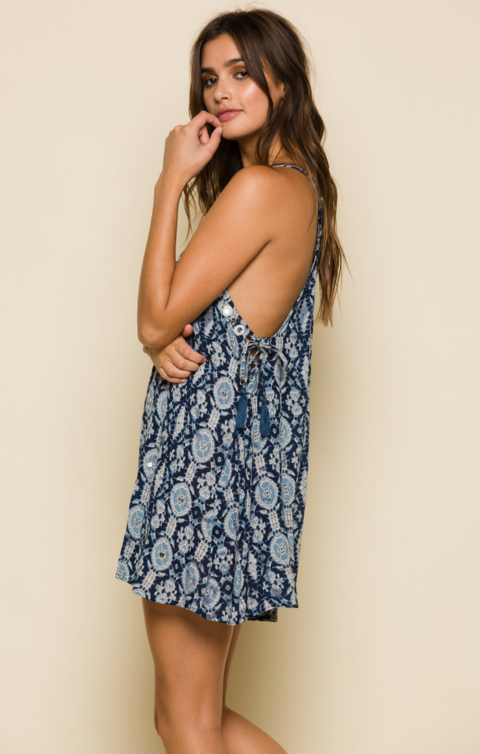 Alohi Swing Mini Dress