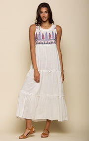 Panama Tiered Maxi Dress
