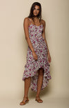 Summer Bloom Ruffled Edge Dress