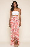 Late Bloom Ruffle Skirt