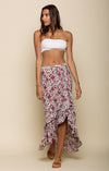 SUMMER BLOOM RUFFLE SKIRT