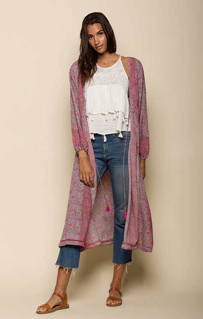 Ditsy Floral Duster