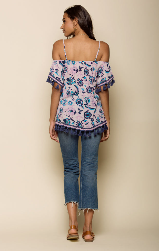Waiola Cold Shoulder Tunic