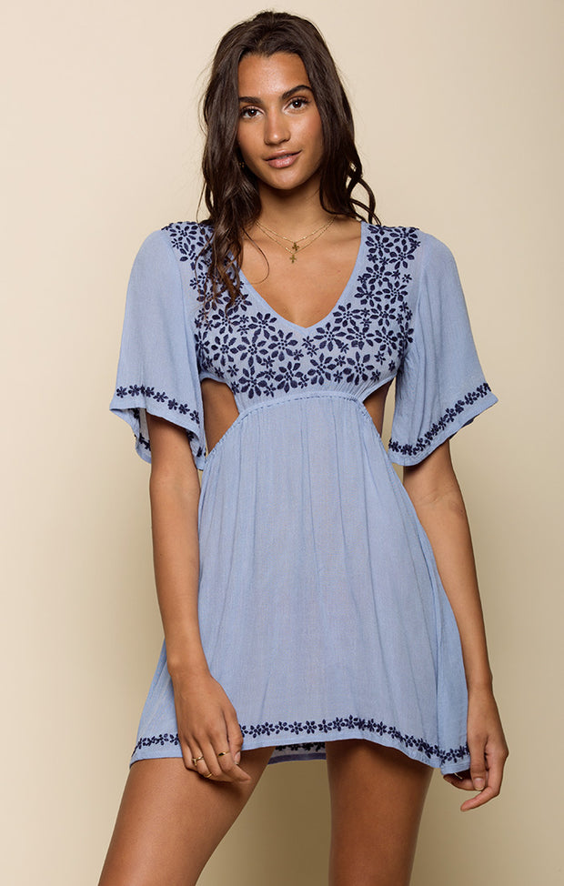 Marrakesh Cutout Mini Dress