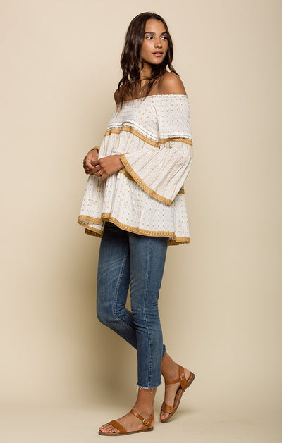 Hazel Off Shoulder Tunic