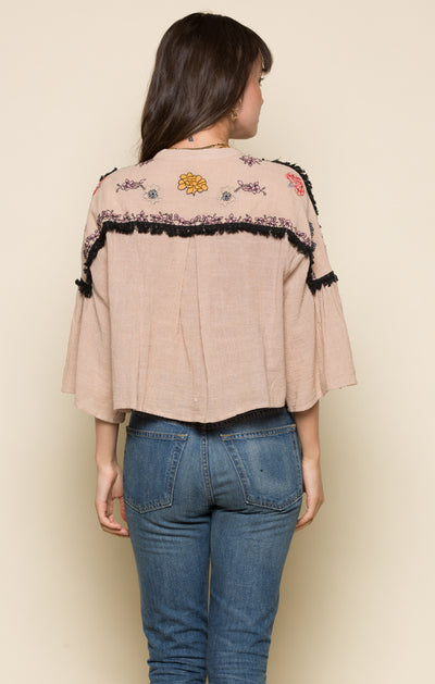 ITZEL SPLIT FRONT TOP