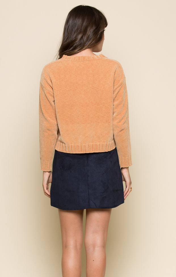 Daisy Embroidered Sweater