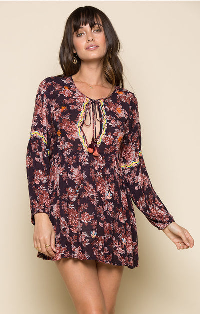 ENCHANTED GARDEN TUNIC DRESS