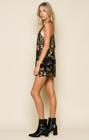 Rowan Cutout Short Dress
