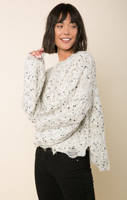 Stella Speckled Sweater