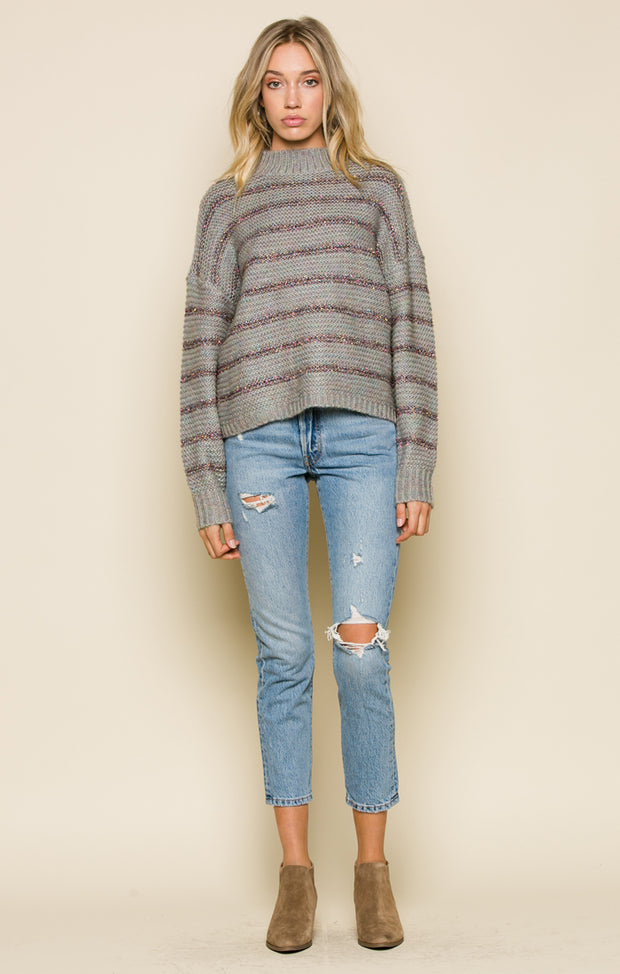 Tegan Mock Neck Sweater