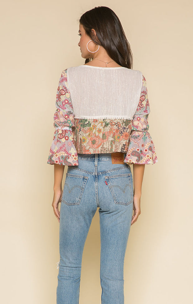 Morrison Square Neck Blouse