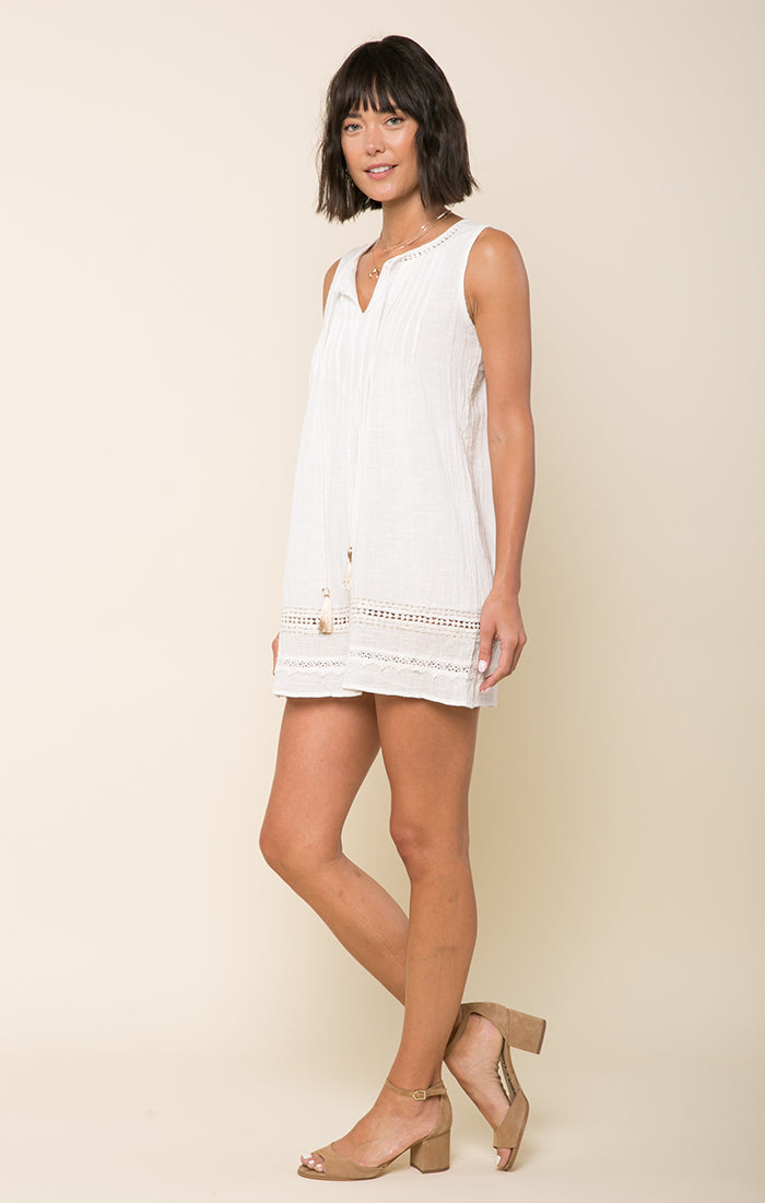 Bianca Pleated Mini Dress