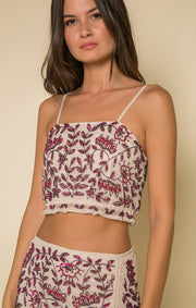 Genevieve Crop Top