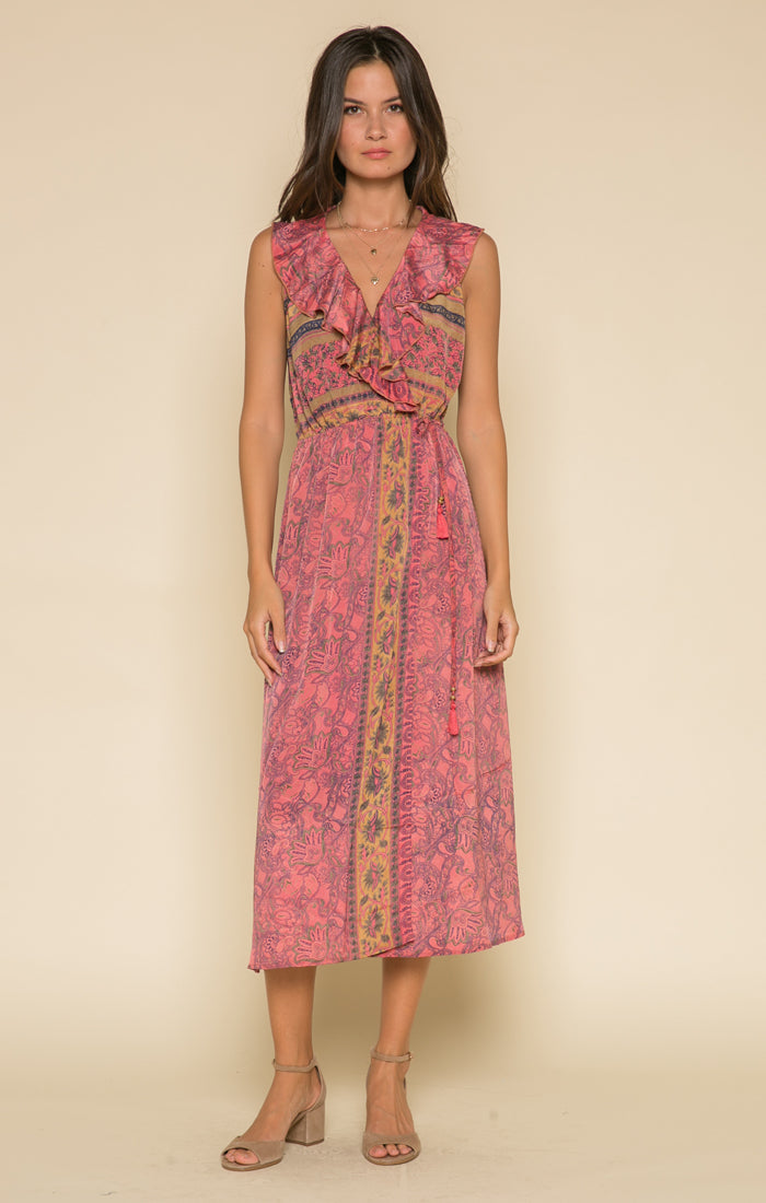 Passion Struck Wrap Dress