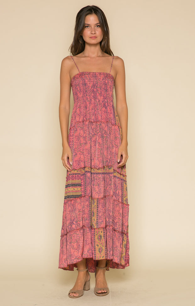 Passion Struck Smocked Maxi Dress