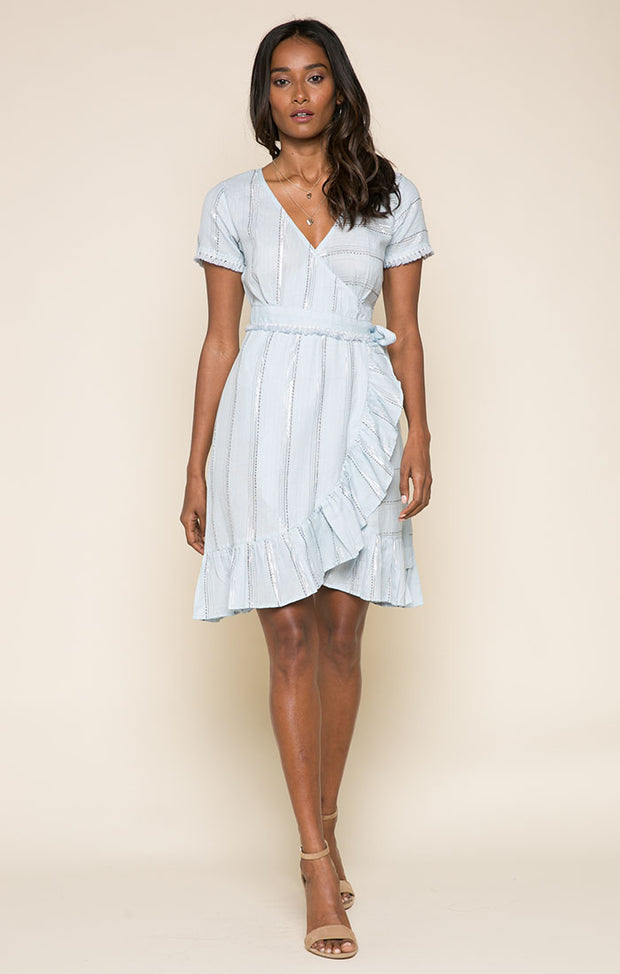 Skyla Short Wrap Dress