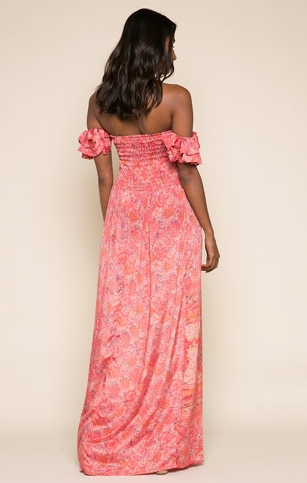 Nidhi Off Shoulder Maxi Dress