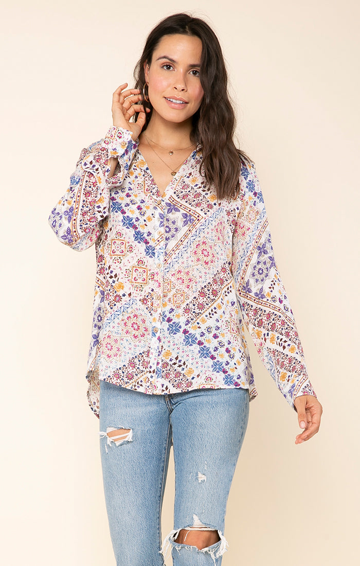 Romina Button Down Shirt