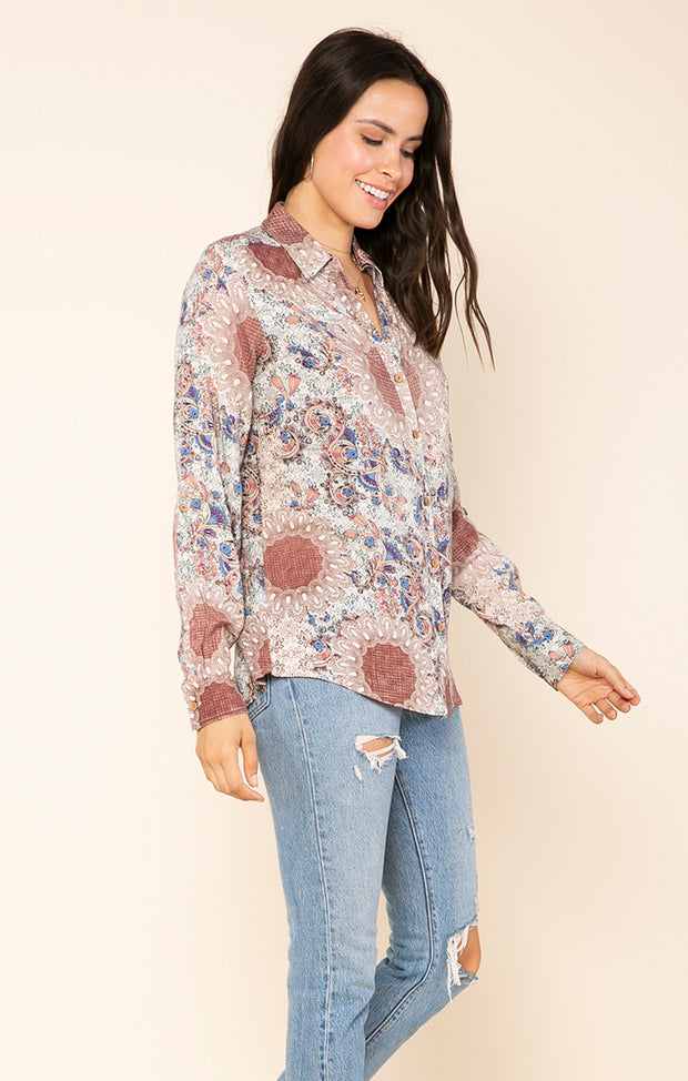 Shanti Button Down Shirt