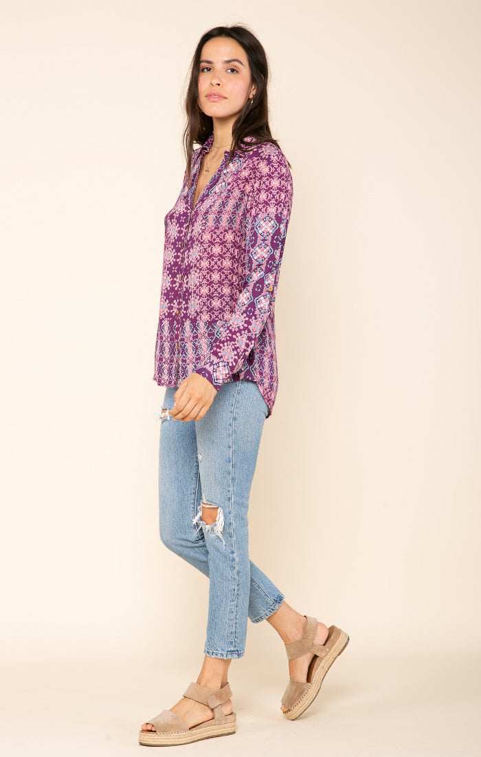 Kinley Button Down Top