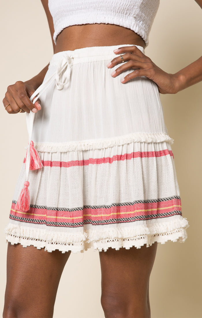 Coastal Escapade Short Skirt