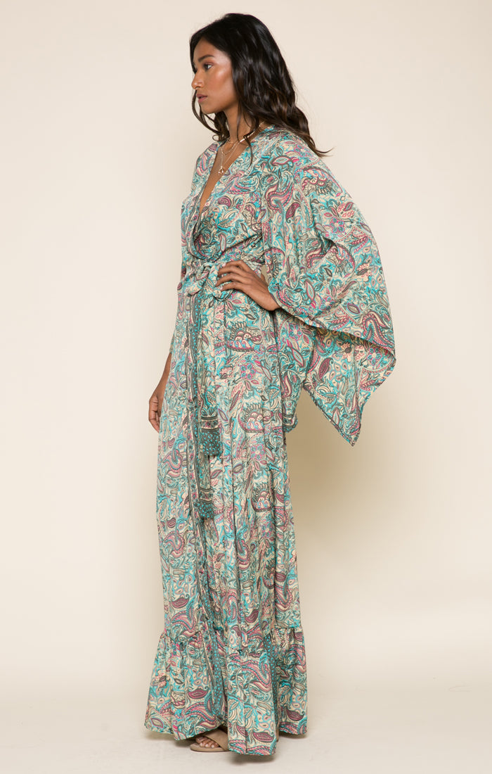 Priscilla Wrap Dress
