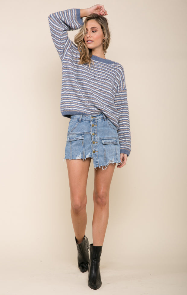 DESIREE DENIM SKIRT