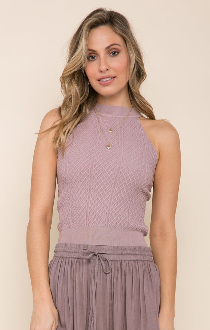 KENZIE HIGH NECK TANK