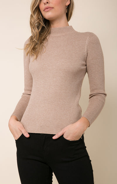 Maisie Mock Neck Sweater