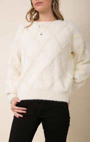 Terri Fuzzy Sweater