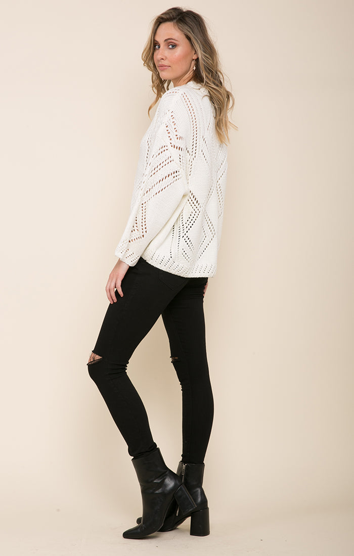 GISELLE HI-LOW SWEATER