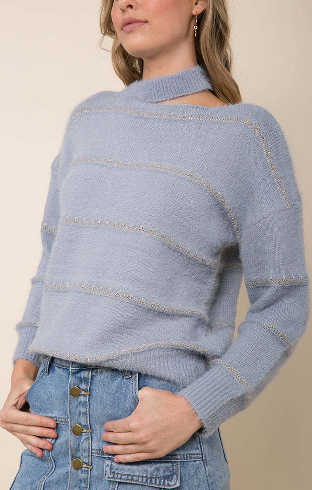 Low Tide Choker Sweater