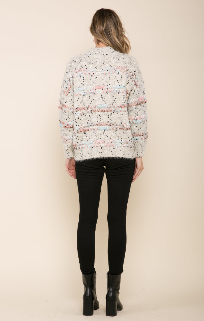 FAYE MOCK NECK SWEATER